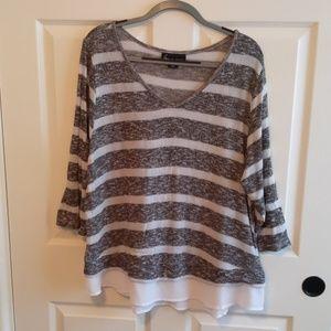 Light Weight 3/4 Sleeve Sweater
